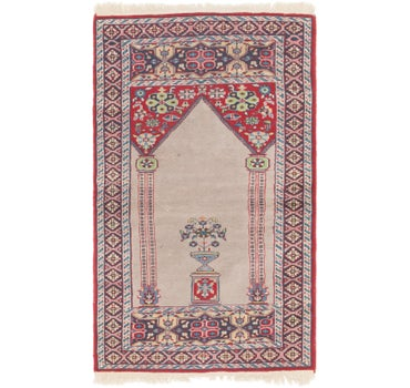 2' 7 x 4' 5 Lahour Oriental Rug main image