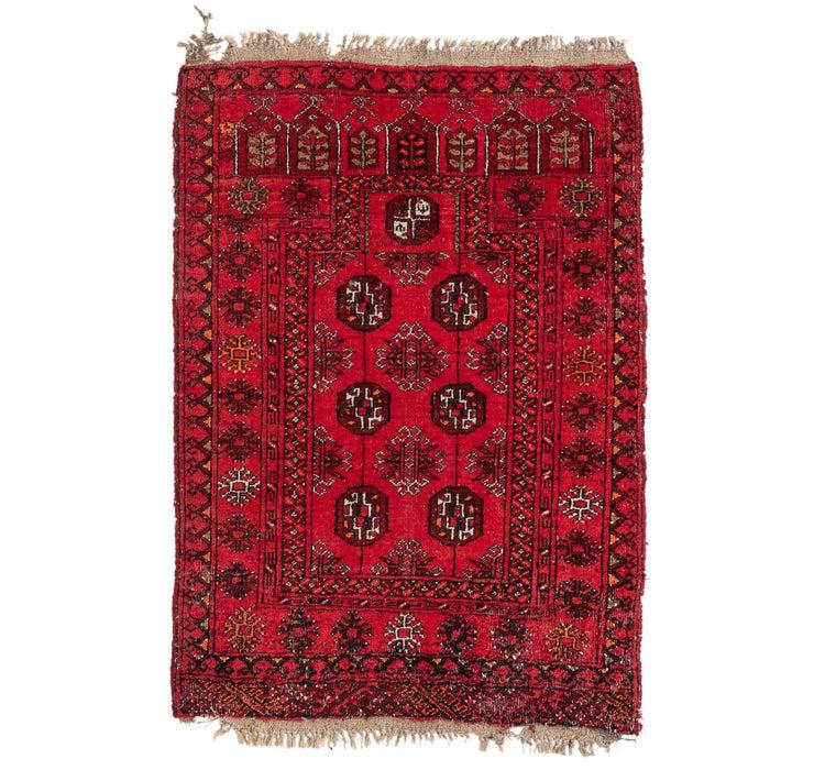 2' 8 x 4' Afghan Ersari Rug