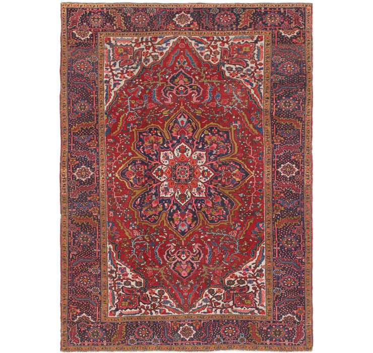250cm x 360cm Heriz Persian Rug