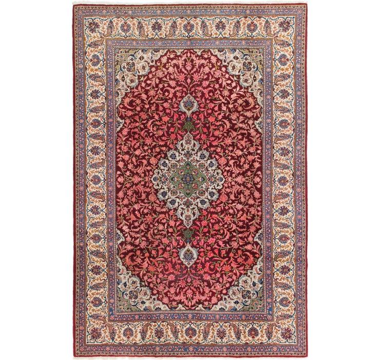 220cm x 335cm Kashan Persian Rug