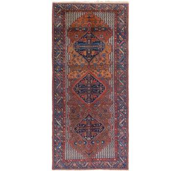 5' 6 x 12' 4 Yalameh Persian Runner Rug main image