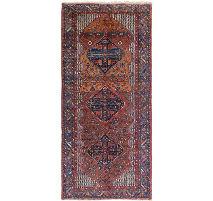 Image of 168cm x 375cm Yalameh Persian Runner ...