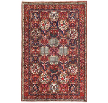 7' x 10' 6 Bakhtiar Persian Rug main image