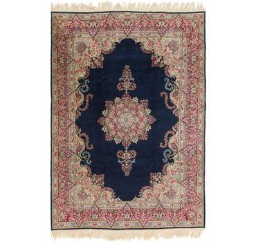7' 4 x 10' 6 Kerman Persian Rug main image