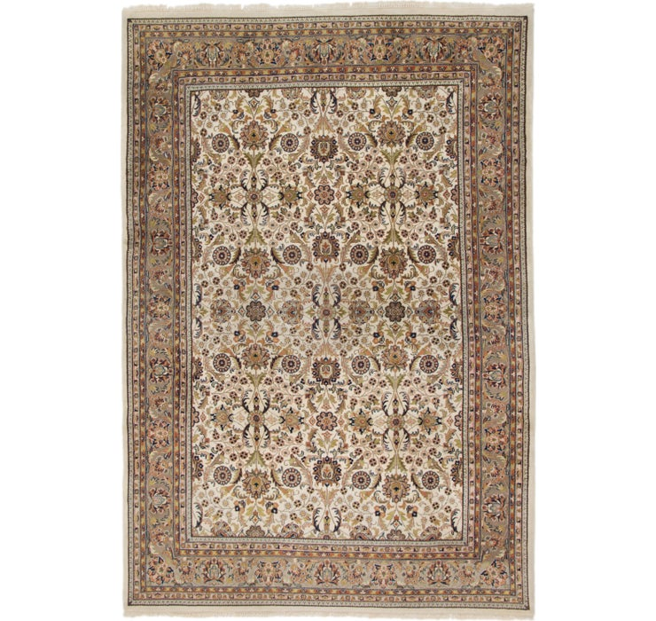 8' x 11' 6 Sarough Rug