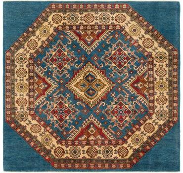 5' 10 x 6' Kazak Square Rug main image