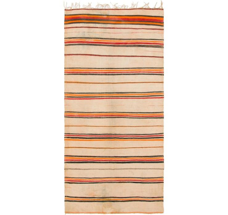 5' x 11' 8 Moroccan Runner Rug
