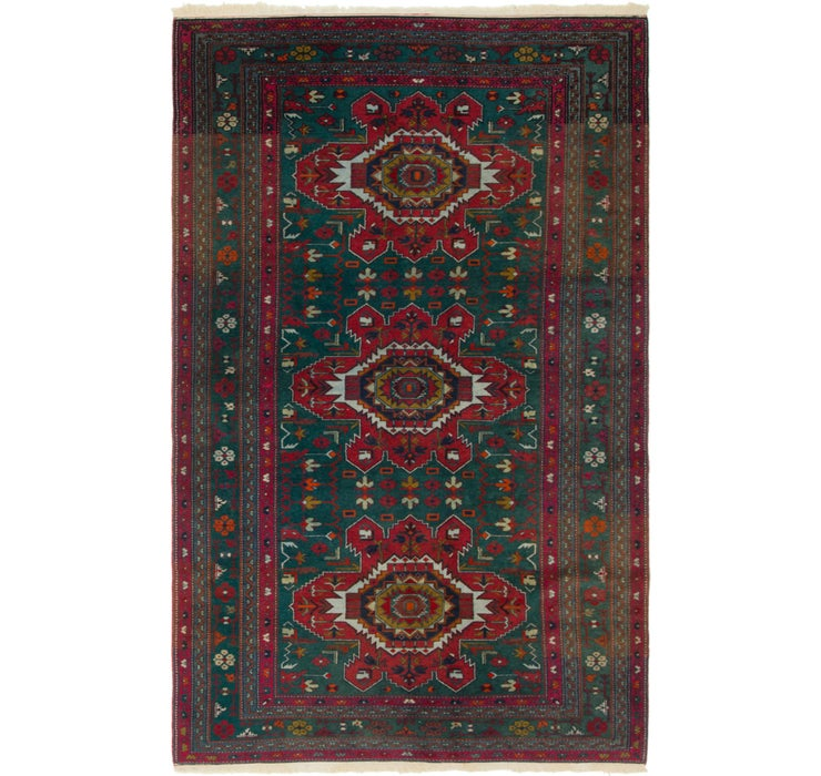 140cm x 230cm Kazak Oriental Rug