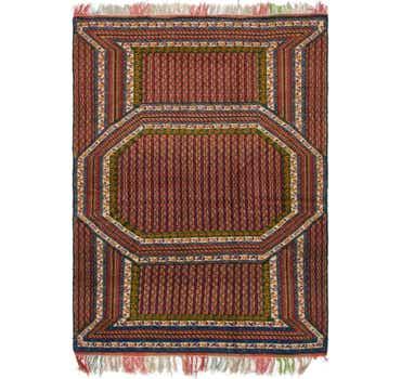Image of 3' 9 x 5' 7 Yalameh Persian Rug