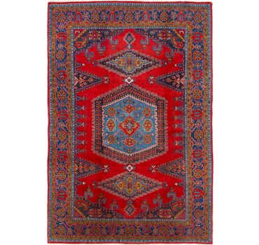 Image of 7' 8 x 11' 5 Viss Persian Rug