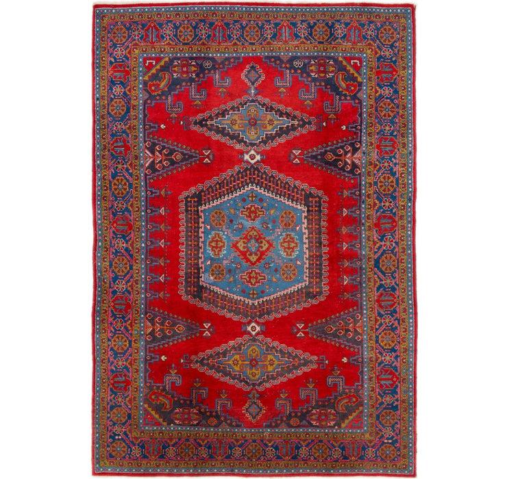 7' 8 x 11' 5 Viss Persian Rug