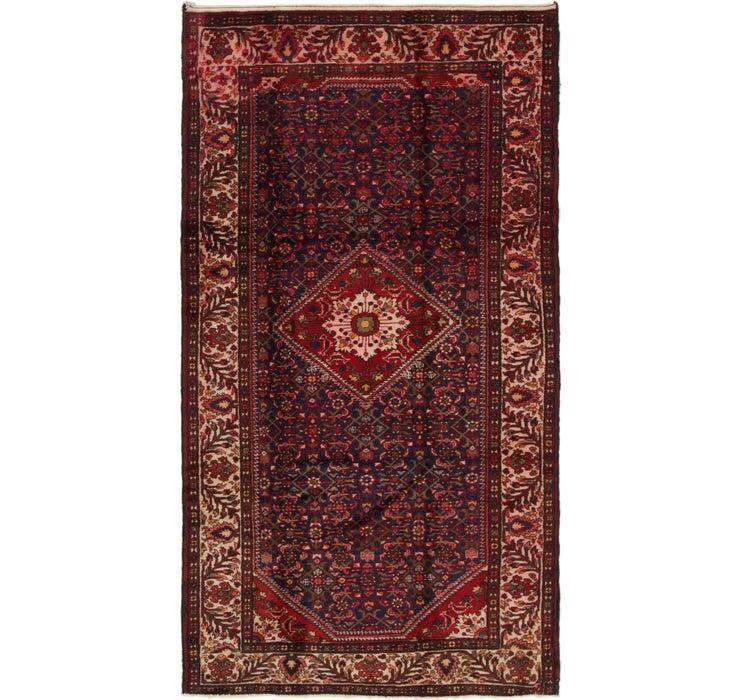 5' 4 x 10' Hossainabad Persian Rug