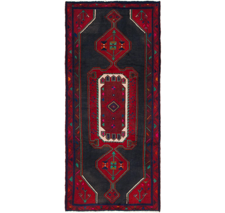 130cm x 280cm Zanjan Persian Runner Rug