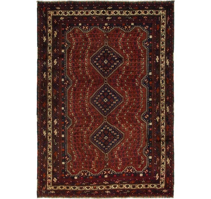 6' 7 x 9' 5 Shiraz Persian Rug