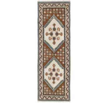 Image of 2' 8 x 8' Kars Runner Rug