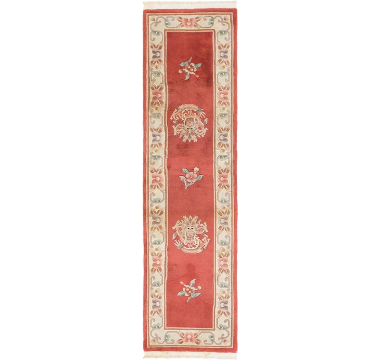 70cm x 267cm Antique Finish Runner Rug