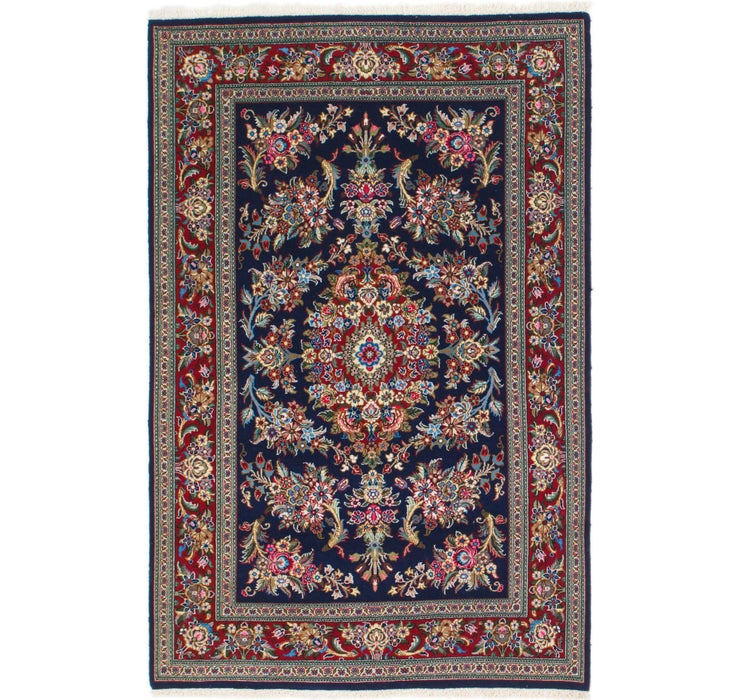 132cm x 173cm Qom Persian Rug