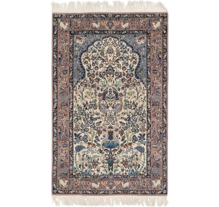115cm x 178cm Isfahan Persian Rug
