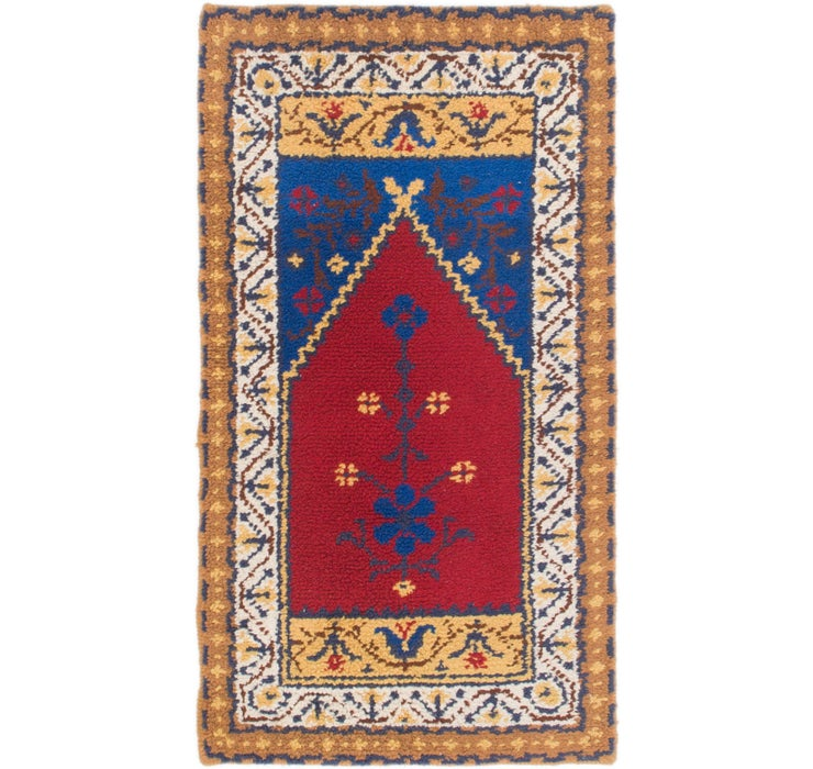 2' 6 x 4' 6 Moroccan Rug