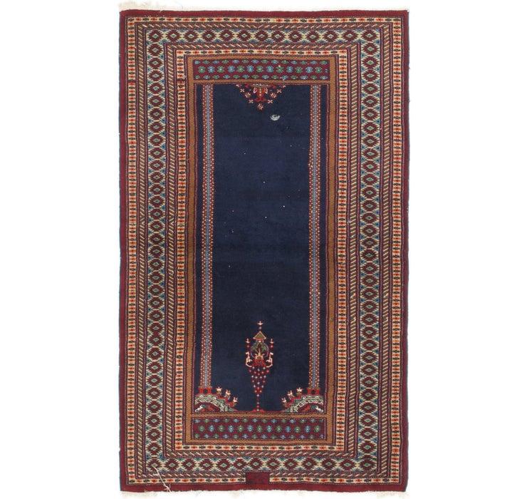 90cm x 152cm Lahour Oriental Rug
