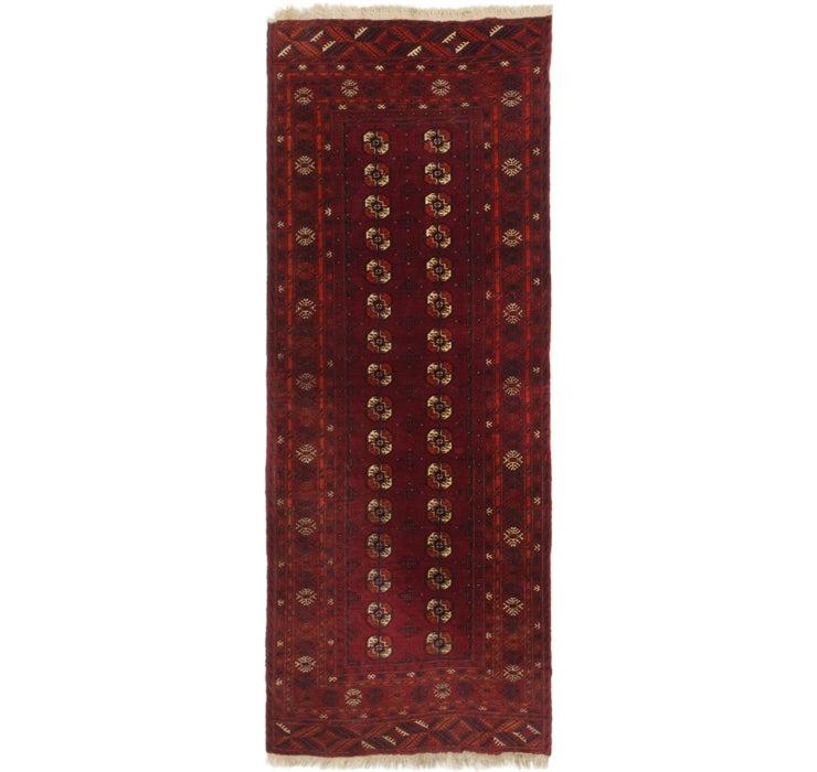 105cm x 270cm Afghan Akhche Runner Rug