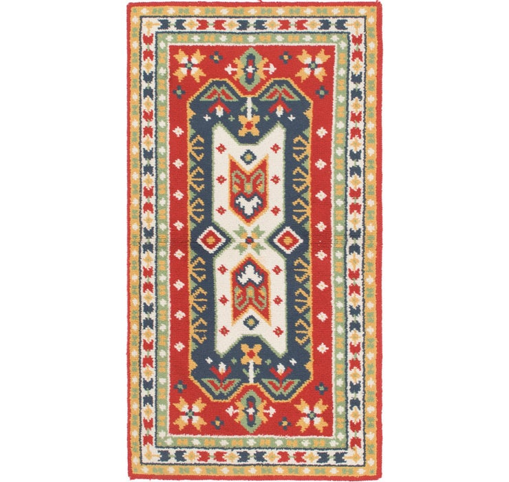 90cm x 183cm Moroccan Rug