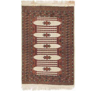 Image of 3' 2 x 5' Bokhara Oriental Rug