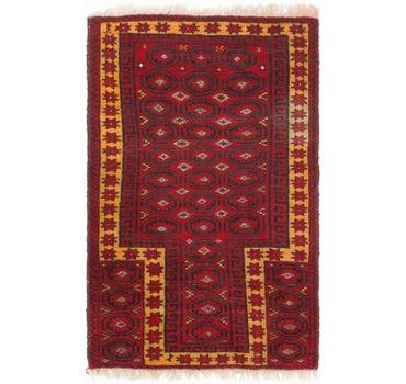 2' 7 x 4' 2 Balouch Persian Rug main image