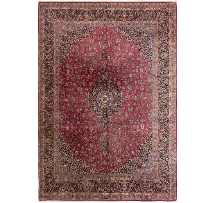 11' 4 x 16' 8 Kashan Persian Rug