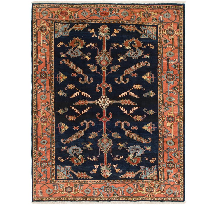 257cm x 343cm Heriz Persian Rug