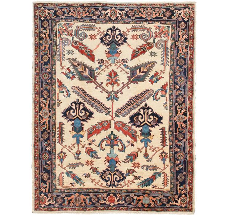 267cm x 340cm Heriz Persian Rug