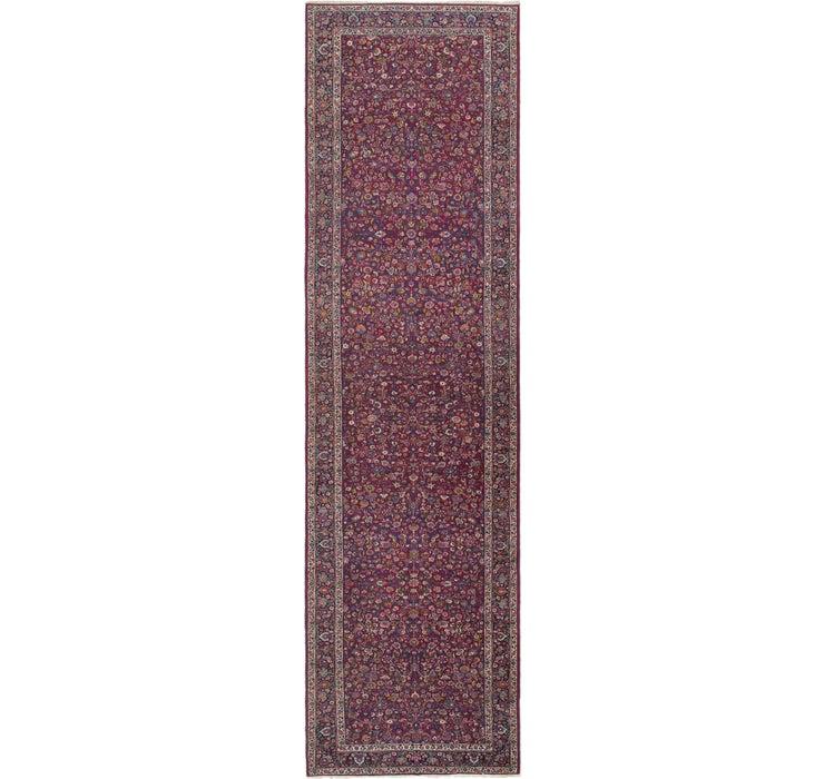 6' 3 x 23' 4 Mashad Persian Runner Rug