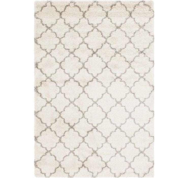 6' 2 x 9' Textured Shag Rug