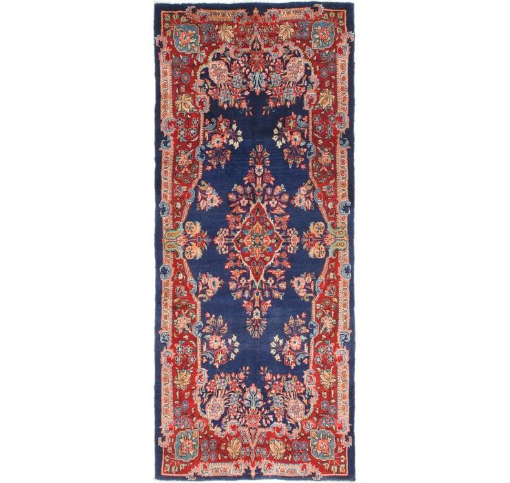 4' 2 x 10' 4 Mahal Persian Runner Rug
