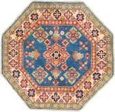 3' x 3' Kazak Octagon Rug thumbnail