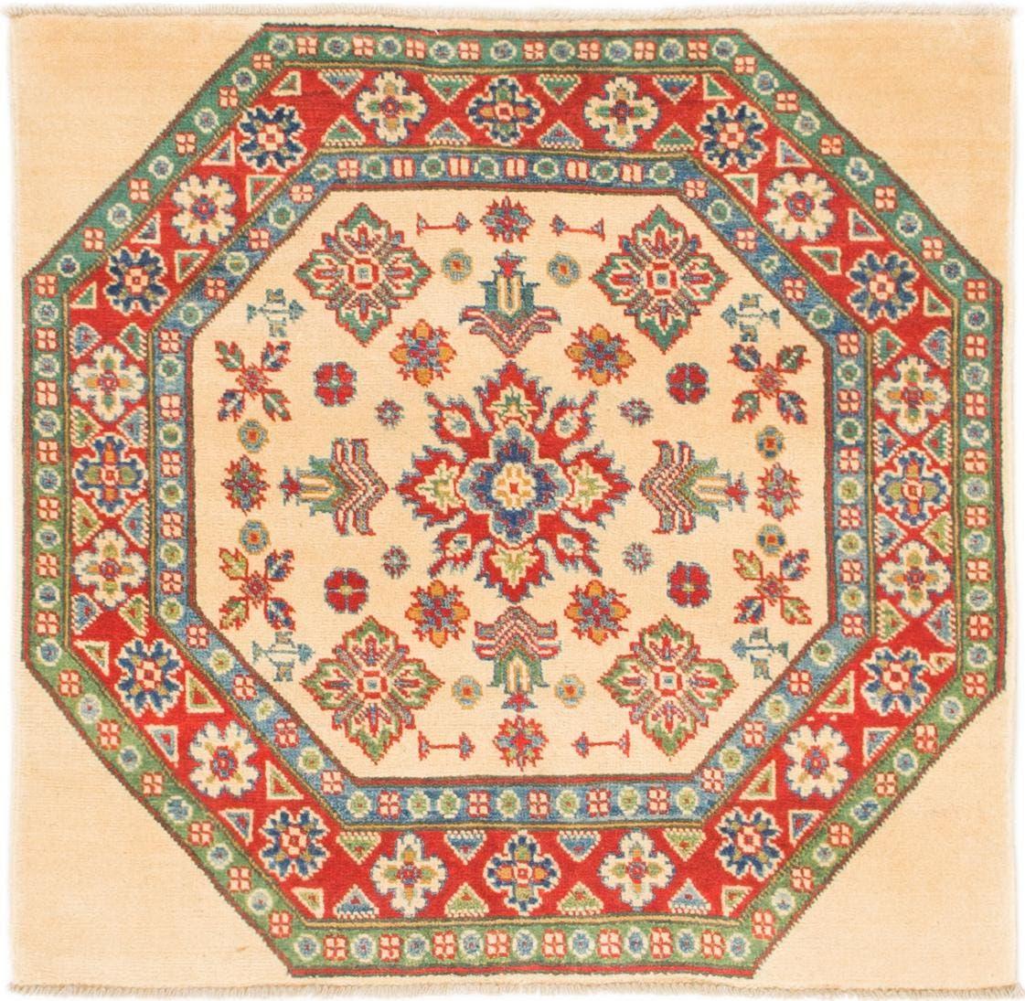 3' 2 x 3' 3 Kazak Square Rug main image
