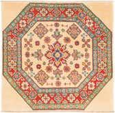 3' 2 x 3' 3 Kazak Square Rug thumbnail