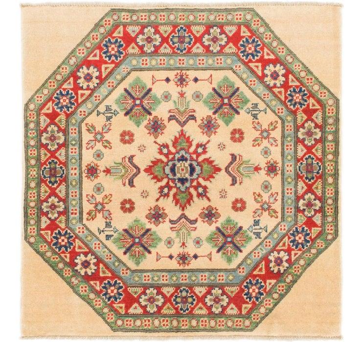 97cm x 102cm Kazak Square Rug