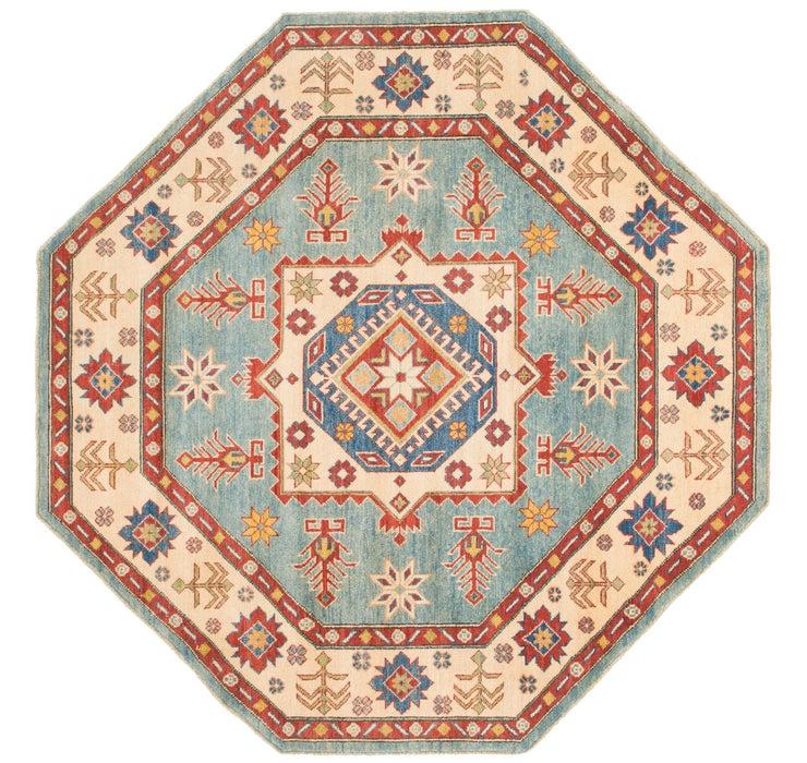 193cm x 195cm Kazak Octagon Rug