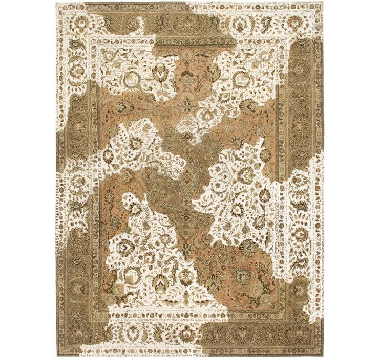 312cm x 415cm Ultra Vintage Persian Rug