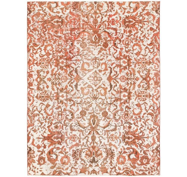 6' 8 x 9' Ultra Vintage Persian Rug