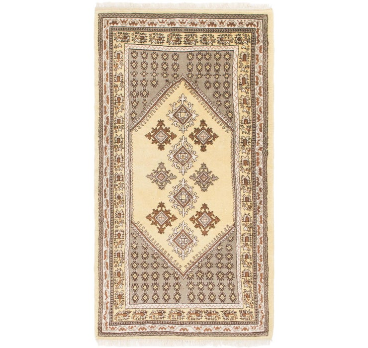 70cm x 135cm Moroccan Rug