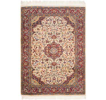 Image of 4' 5 x 6' 5 Jaipur Agra Oriental Rug