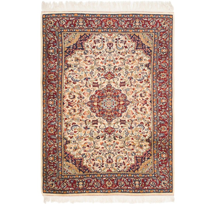 Image of 135cm x 195cm Jaipur Agra Oriental Rug