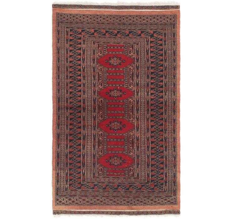 3' x 5' 3 Bokhara Oriental Rug