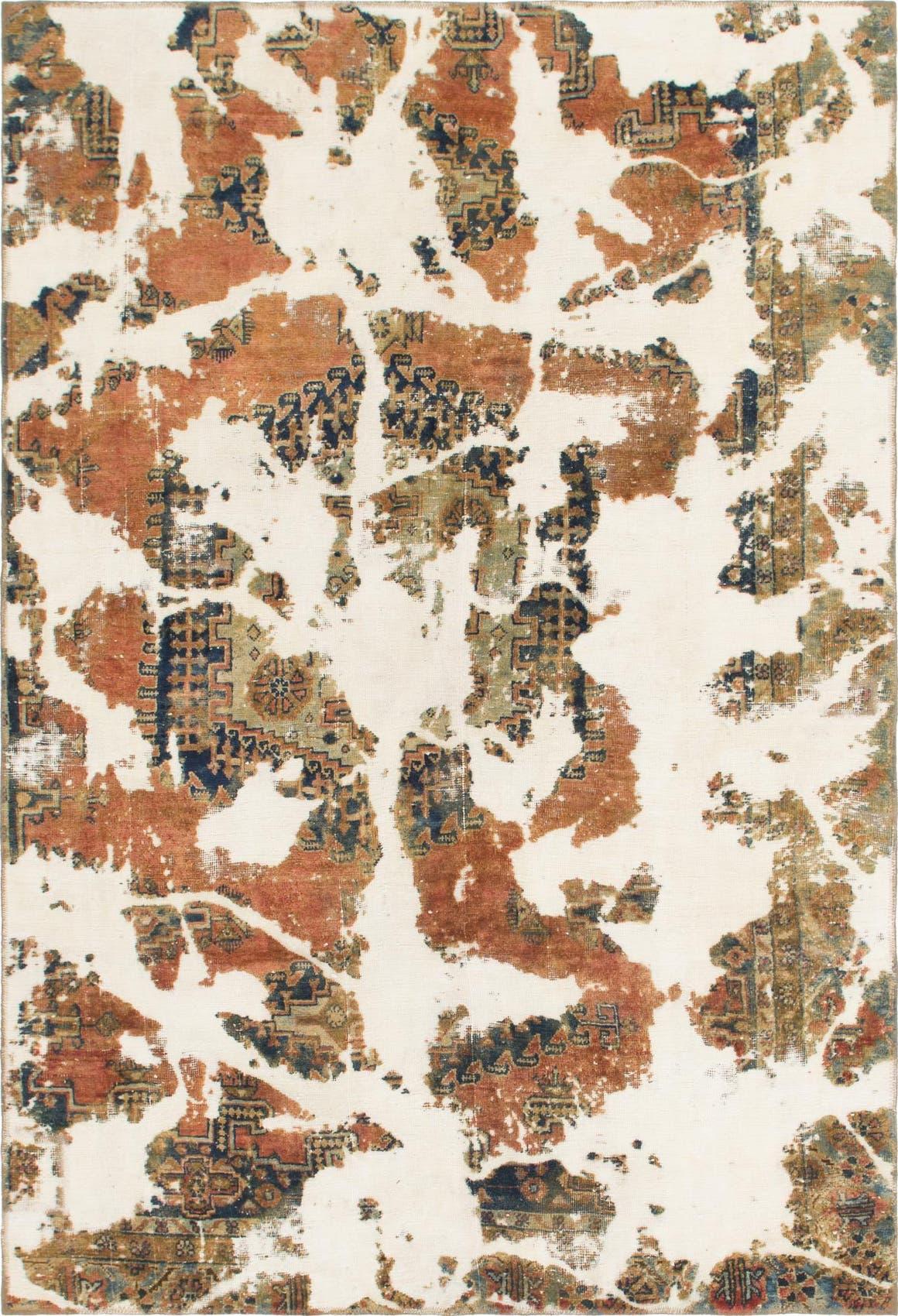 5' 10 x 8' 8 Ultra Vintage Persian Rug main image