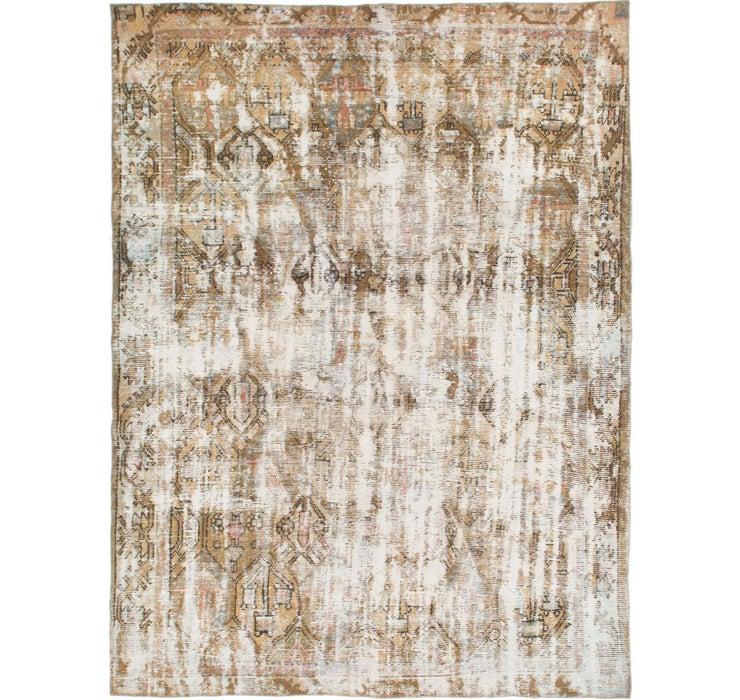 6' 8 x 8' 8 Ultra Vintage Persian Rug