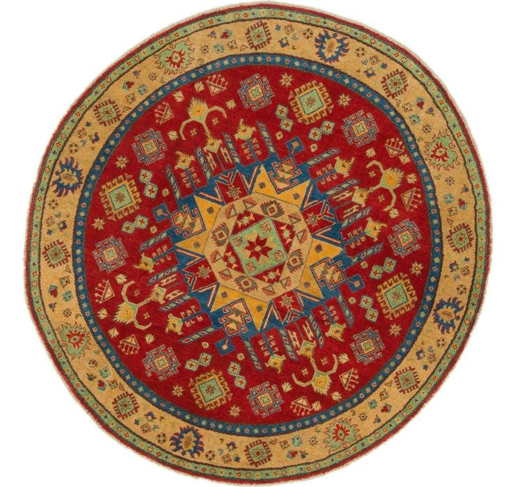 6' 6 x 6' 9 Kazak Round Rug