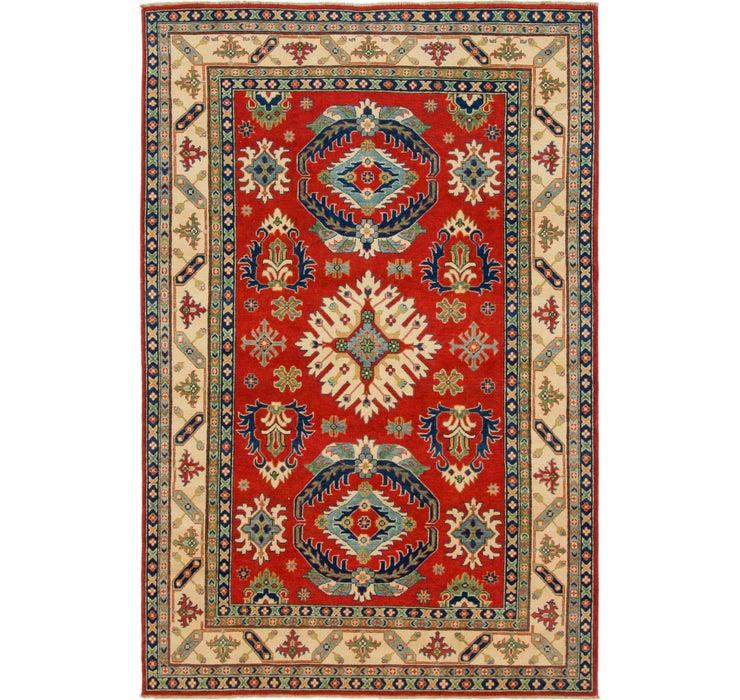 6' 4 x 9' 9 Kazak Oriental Rug