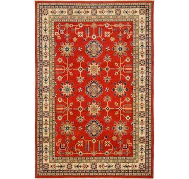 Image of 6' 6 x 9' 8 Kazak Rug